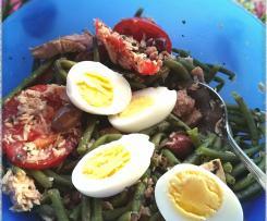 Salade de haricots verts : niçoise à la façon de Sylvia Gabet