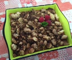 Crumble au fruits d'été