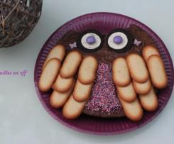 """Gâteau d'anniversaire pour enfant """"chouette"""" - 6 ans -"""