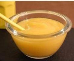Compote de pommes au caramel beurre salé express