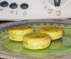 Macarons ganache Ananas-Malibu