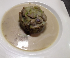 Mijoté champignon/chou chinois