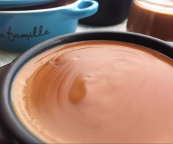petits pots de crème cacao