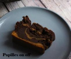 Marbré butternut et chocolat - Ig bas