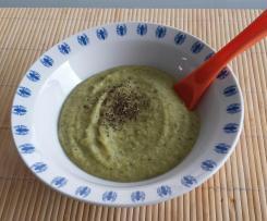 Purée brocoli courgette