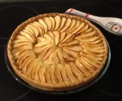 tarte aux pommes et à la pâte de spéculos