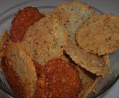 Biscuit apéritif au parmesan