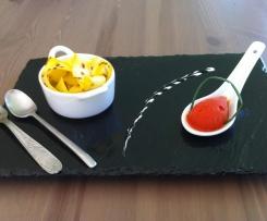 Sorbet salé au poivron rouge