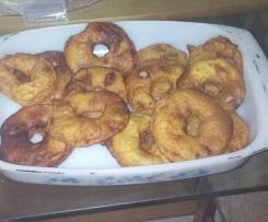 beignet au pomme
