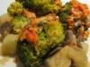 Gratin de brocolis/pommes de terre