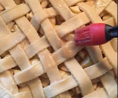 Gâteau aux pommes américain Apple pie