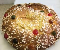 """galette des rois briochée """" provençale """""""