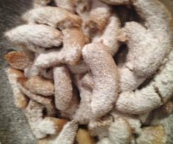 Petits sablés mini-croissants