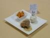 Ballotines de Truite aux noix émiéttées sauce Chartreuse et légumes glacés à la Mandrin