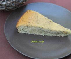 Gâteau mojito : citron vert, rhum et menthe