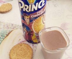 Crème dessert aux biscuits Prince