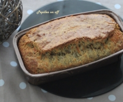Cake au thon et tomates séchées