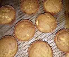 Muffins sans oeufs, sans gluten et sans lait