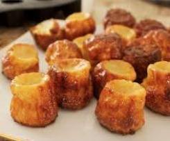 Mini-cake carotte gingembre