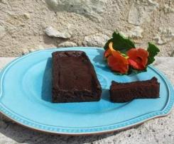 Gâteau moelleux magique courgette/choco/banane, sans: beurre, oeufs, lactose, gluten, sucre et matières grasses ajoutées!!!