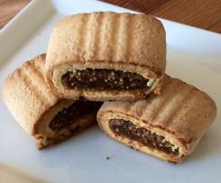 Biscuits fourrés à la figue