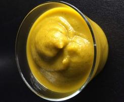 soupe froide carottes coriandre