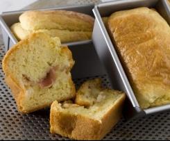 Cake au Jambon Cru et au Comté