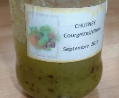Confiture courgettes citron