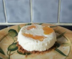 Bavarois orange chocolat blanc