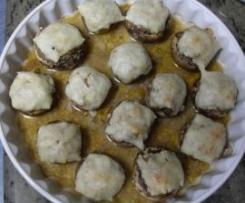 Champignons farcis (recette d'Ana Sevilla du forum Thermomix espagnol)