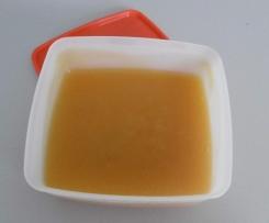 Coulis de nectarine