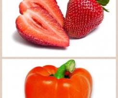 gazpacho de fraises & poivrons