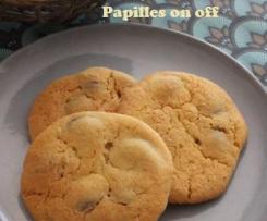 Cookies aux chunks de chocolat