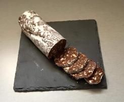 saucisson au chocolat gourmand