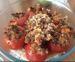 Tomates farcies à la chair à saucisse