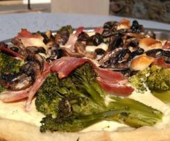 tarte au brocolis et jambon