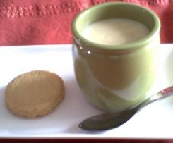 Crème palets bretons et vanille