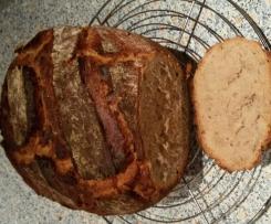 pain cocotte à la farine de seigle et de blé (recette allemande)