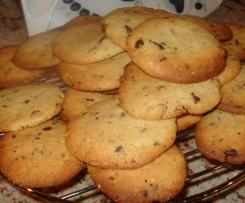 Cookies noisette pépites de chocolat