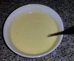 crème veloutée de navets
