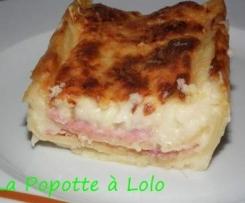 Lasagnes au Jambon