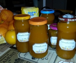 confiture Citrouille et Orange