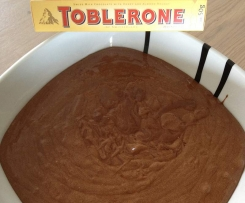 Mousse au chocolat au Toblerone