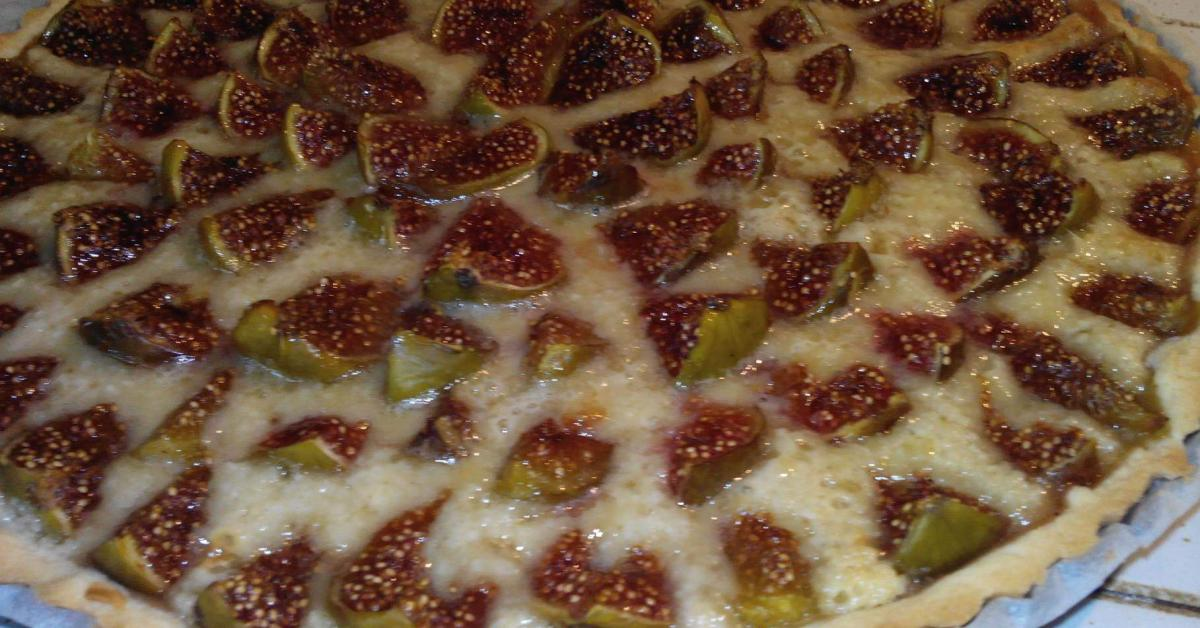 tarte aux figues by emiliedu26 on www espace recettes fr