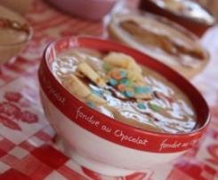 Crèmes chocolat blanc/Spéculoos