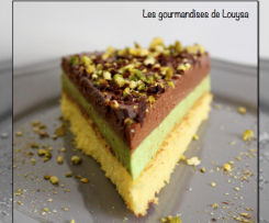Entremet Pistache Chocolat