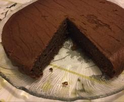 Gâteau léger et moelleux à souhait banane et cacao amer