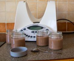 Semoule au lait au chocolat