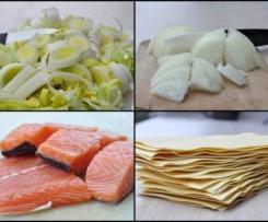 Lasagnes aux 2 saumons