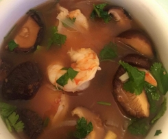 Soupe thai tom yam goong